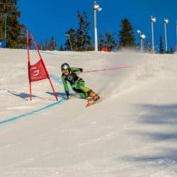Johanna Holzmann beim Sprint in Rjukan 2020