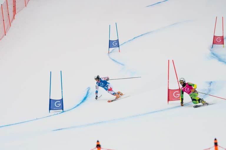 Jonas Schmid gegen Matti Lopez im Parallel Sprint in Rjukan