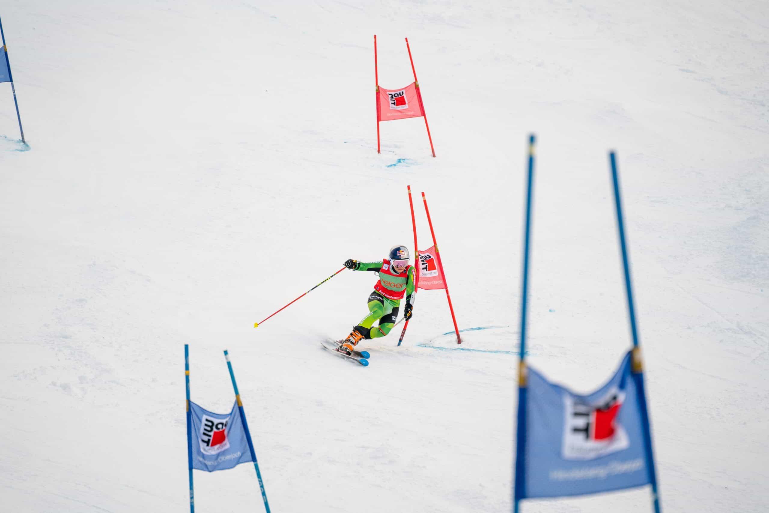 Johanna Holzmann beim Parallel Sprint am Oberjoch