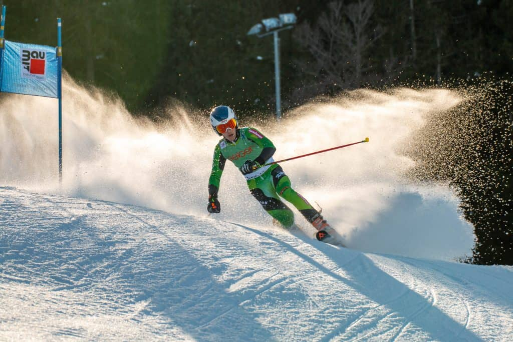 Thomas Orlovius zeigt gute Fahrten beim Heimweltcup am Oberjoch