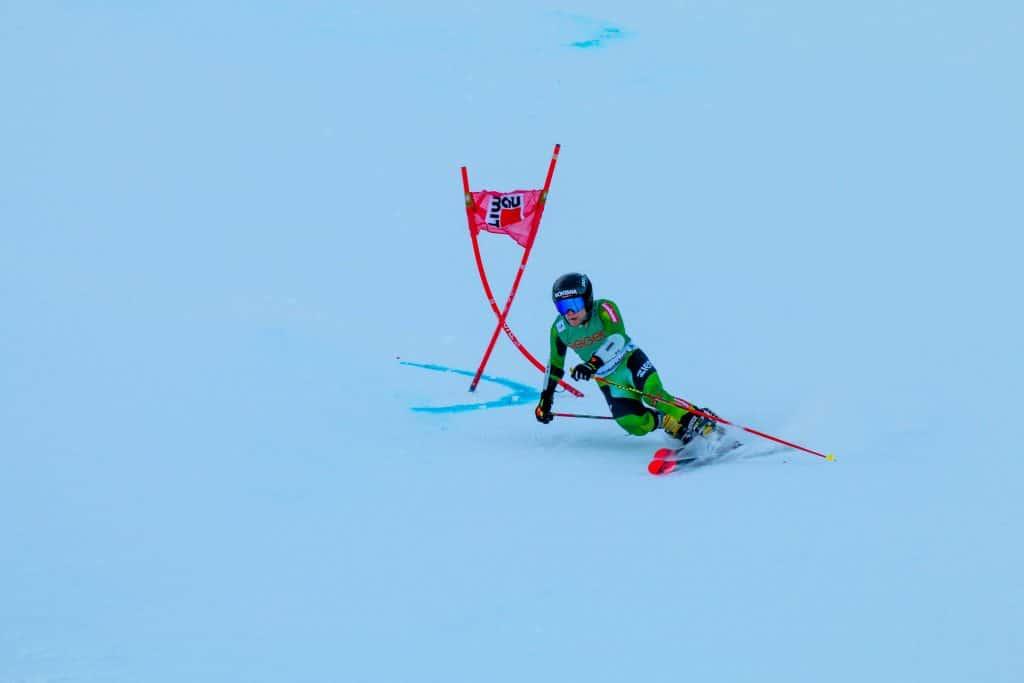 Christoph Frank beim Heimweltcup am Oberjoch