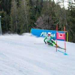 Kathrin Reischmann zeigt beim zweiten Sprint am Oberjoch, dass sie zur Weltspitze gehört